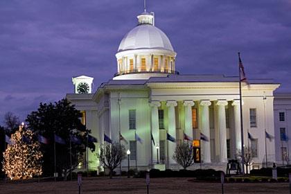 Alabama state capitol building, Montgomery, AL