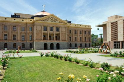 Arizona state capitol building, Phoenix, AZ