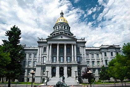 Colorado state capitol building, Denver, CO