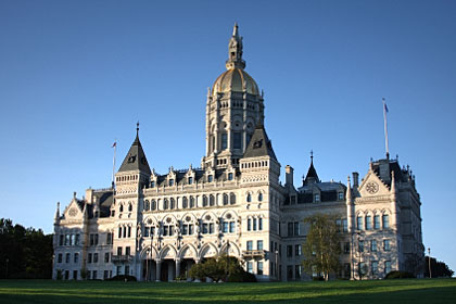 Connecticut state capitol building, Hartford, CT