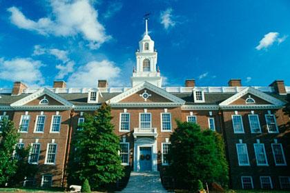 Delaware state capitol building, Dover, DE