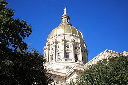 Georgia state capitol building, Atlanta, GA