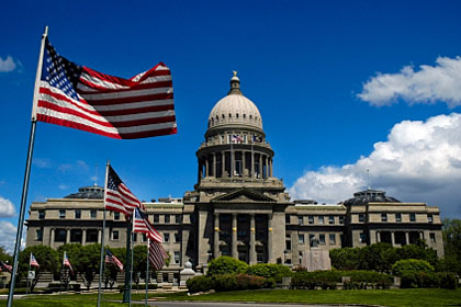 Idaho state capitol building, Boise, ID