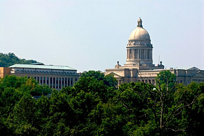 Kentucky state capitol building, Frankfort, KY