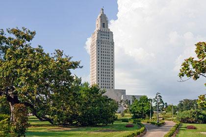 Louisiana state capitol building, Baton Rouge, LA