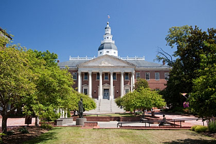 Maryland state capitol building, Annapolis, MD