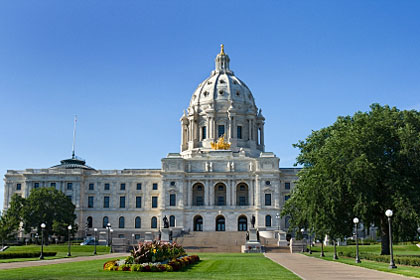 Minnesota state capitol building, Saint Paul, MN