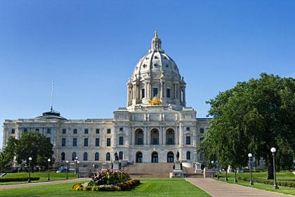 Minnesota state capitol building, Saint Paul, MN