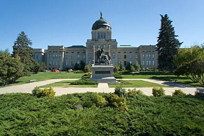 Montana state capitol building, Helena, Montana
