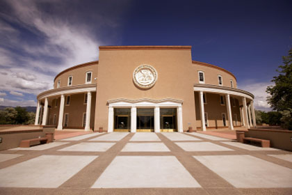 New Mexico state capitol building, Santa Fe, NM