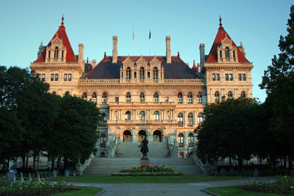 New York state capitol building, Albany, NY