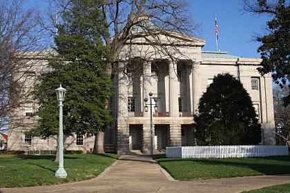 North Carolina state capitol building, Raleigh, NC