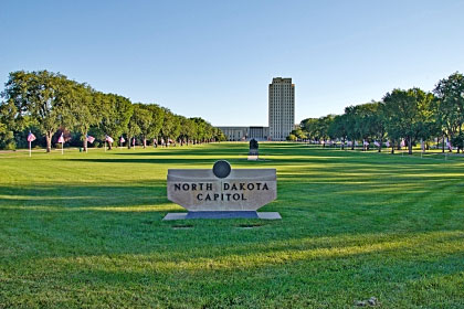 North Dakota state capitol building, Bismarck, ND
