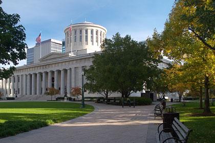 Ohio state capitol building, Columbus, OH