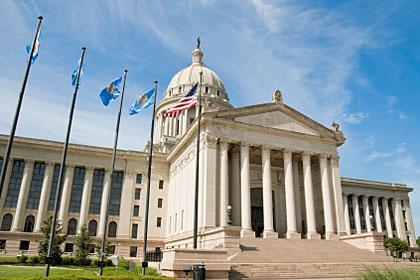 Oklahoma state capitol building, Oklahoma City, OK