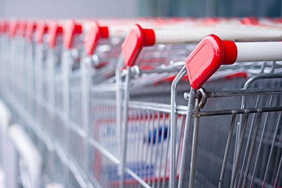 retail shopping carts