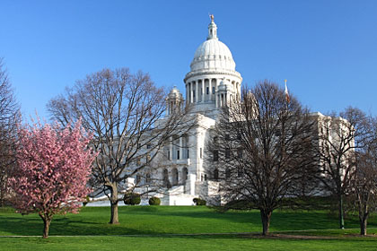 Rhode Island state capitol building, Providence, RI