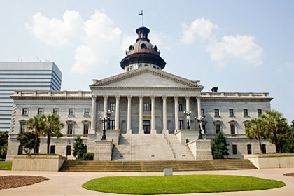 South Carolina state capitol building, Columbia, SC