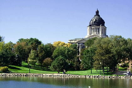 South Dakota state capitol building, Pierre, SD