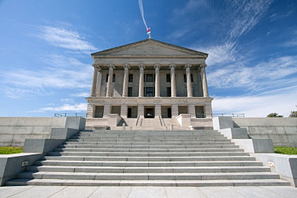 Tennessee state capitol building, Nashville, TN