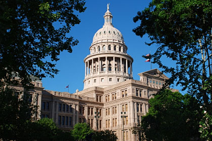 Texas state capitol building, Austin, TX