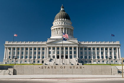 Utah state capitol building, Salt Lake City, UT