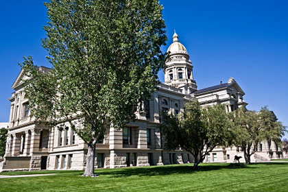 Wyoming state capitol building, Cheyenne, WY